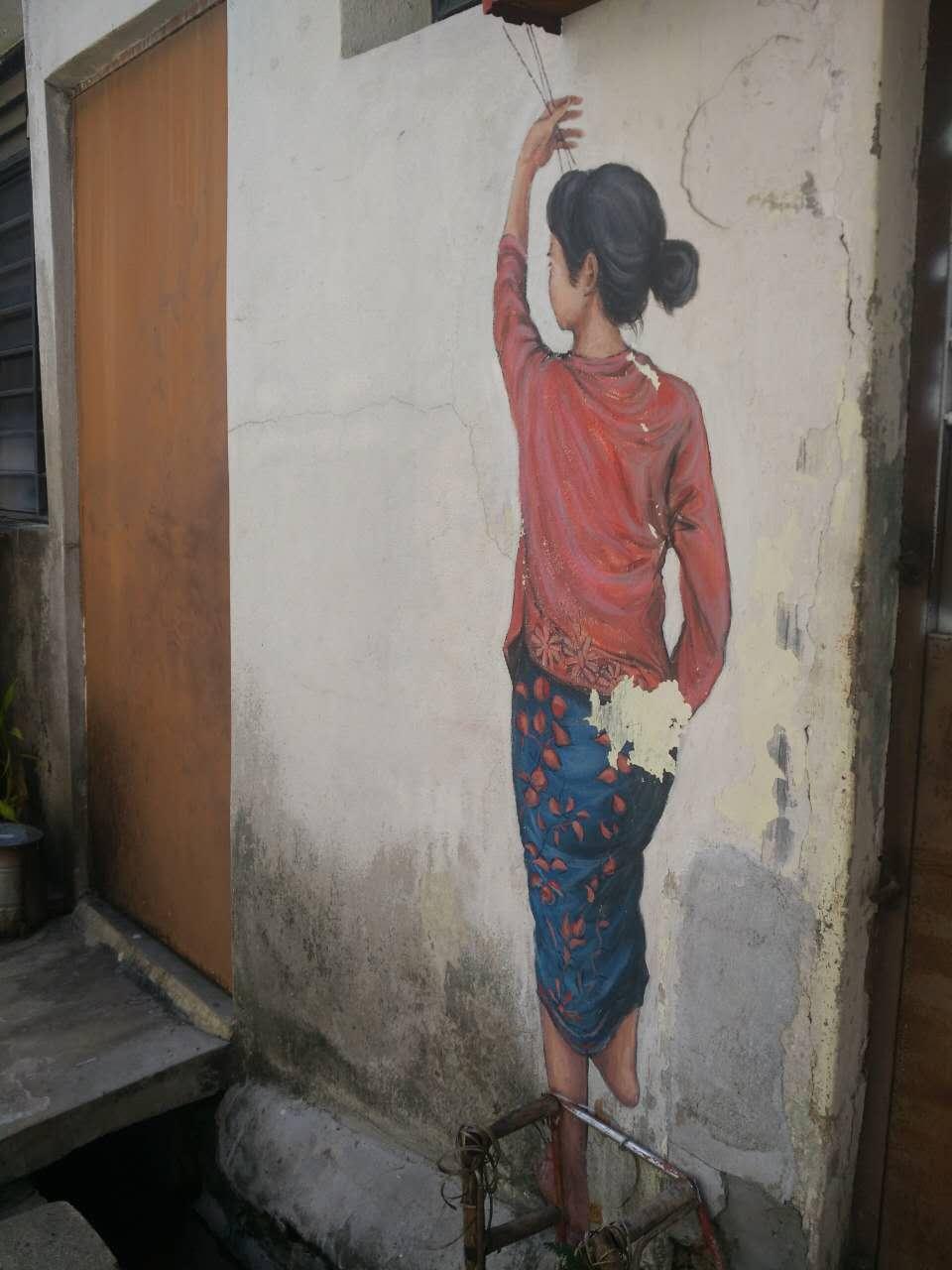 槟城一日游——升旗山&壁画街(完结篇)